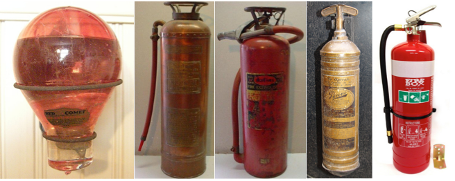 Evolution Of The Fire Extinguisher