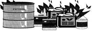 Class B types of Fire - Sydney Extinguishers